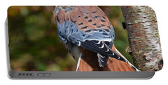 American Kestral Portrait Portable Battery Charger