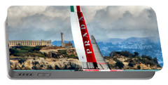 America's Cup And Alcatraz Ll Portable Battery Charger