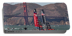 Americas Cup At The Gate Portable Battery Charger