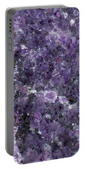 Amethyst Geode II Portable Battery Charger