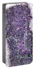 Amethyst Geode Portable Battery Charger by Tikvah's Hope