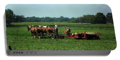 Amish Field Work Portable Battery Charger