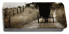 Amish Horse And Buggy Portable Battery Charger
