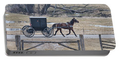 Amish Horse And Buggy March 2013 Portable Battery Charger