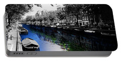 Amsterdam Colorsplash Portable Battery Charger