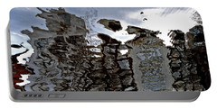 Portable Battery Charger featuring the photograph Amsterdam Reflections 2 by Andy Prendy
