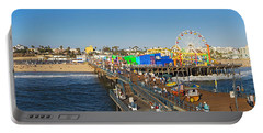 Amusement Park, Santa Monica Pier Portable Battery Charger