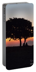 Portable Battery Charger featuring the photograph An African Sunset by Vicki Spindler