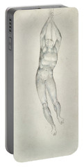 An Angel With A Trumpet Portable Battery Charger by William Blake