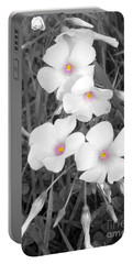 Portable Battery Charger featuring the photograph An Angels Work by Janice Westerberg