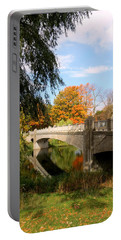 An Autumn Scene Portable Battery Charger by Kay Novy
