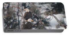 An Eagle Pair  Portable Battery Charger