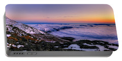 An Undercast Sunset Panorama Portable Battery Charger