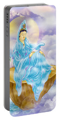 Anavatapta Kuan Yin Portable Battery Charger by Lanjee Chee