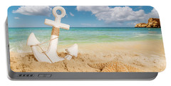 Anchor On The Beach Portable Battery Charger