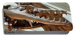 Ancient Crocodile Dinosaur Portable Battery Charger