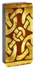 Ancient Ornamental Celtic Design Portable Battery Charger