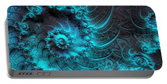 Ancient Verdigris -- Triptych 1 Of 3 Portable Battery Charger
