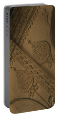 Portable Battery Charger featuring the photograph Ancient Wall by Mini Arora