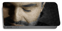 Andrea Bocelli And Square Portable Battery Charger