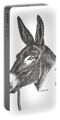 Portable Battery Charger featuring the painting Andy by Bill Searle