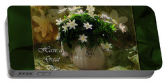 Anemones Portable Battery Charger