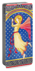 Angel Blowing Trumper Portable Battery Charger