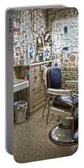 Angel Delgadillo's Barber Shop Portable Battery Charger