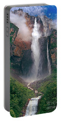 Angel Falls In Venezuela Portable Battery Charger