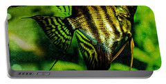 Portable Battery Charger featuring the photograph Angel Fish by Lisa Brandel