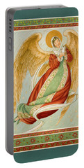 Angel In Green Slippers Portable Battery Charger