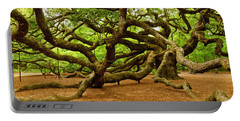 Angel Oak Tree Branches Portable Battery Charger
