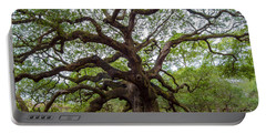 Portable Battery Charger featuring the photograph Angel Oak Tree by Dale Powell