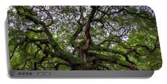 Angel Oak Tree Portable Battery Charger by Douglas Stucky