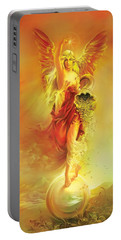 Angel Of Abundance - Fortuna Portable Battery Charger