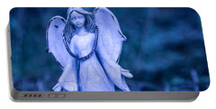 Angel Of The Rain Portable Battery Charger by Charlie Duncan