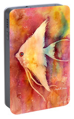 Angelfish II Portable Battery Charger by Hailey E Herrera