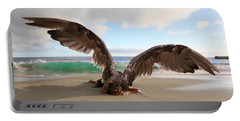 Angels- For The Lord Himself Will Descend From Heaven With A Shout Portable Battery Charger