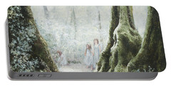 Angels In The Mist Portable Battery Charger