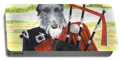 Angus The Piper Portable Battery Charger