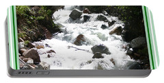 Animas River Southern Colorado Portable Battery Charger