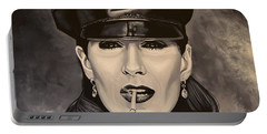 Anjelica Huston Portable Battery Charger
