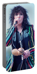 Ann Wilson Of Heart At 1981 Day On The Green In Oakland Ca Portable Battery Charger