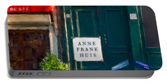 Anne Frank House. Amsterdam Portable Battery Charger