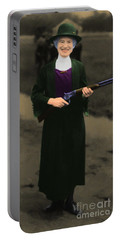 Annie Oakley 20130514 Long Portable Battery Charger