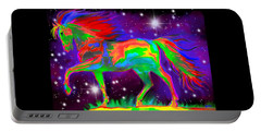 Another Rainbow Stallion Portable Battery Charger by Nick Gustafson