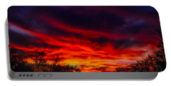 Another Tucson Sunset Portable Battery Charger by Mark Myhaver