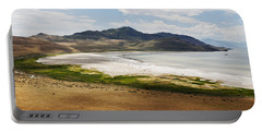 Antelope Island Portable Battery Charger by Belinda Greb