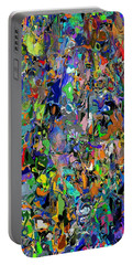 Portable Battery Charger featuring the digital art Anthyropolitic 1 by David Lane