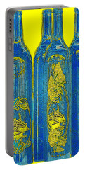 Antibes Blue Bottles Portable Battery Charger